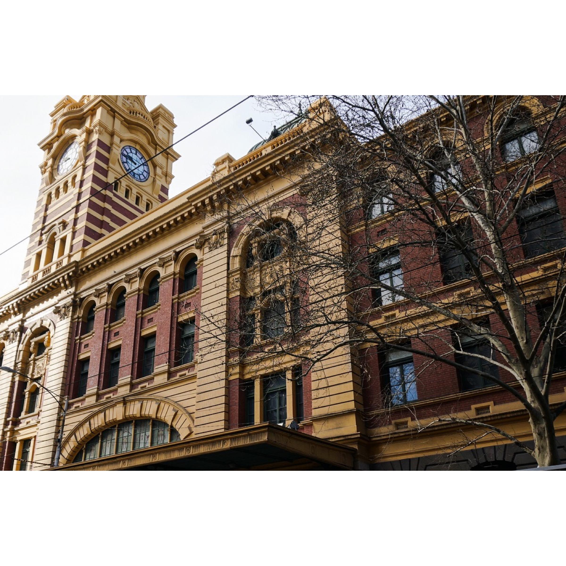 Flinders Station Melbourne