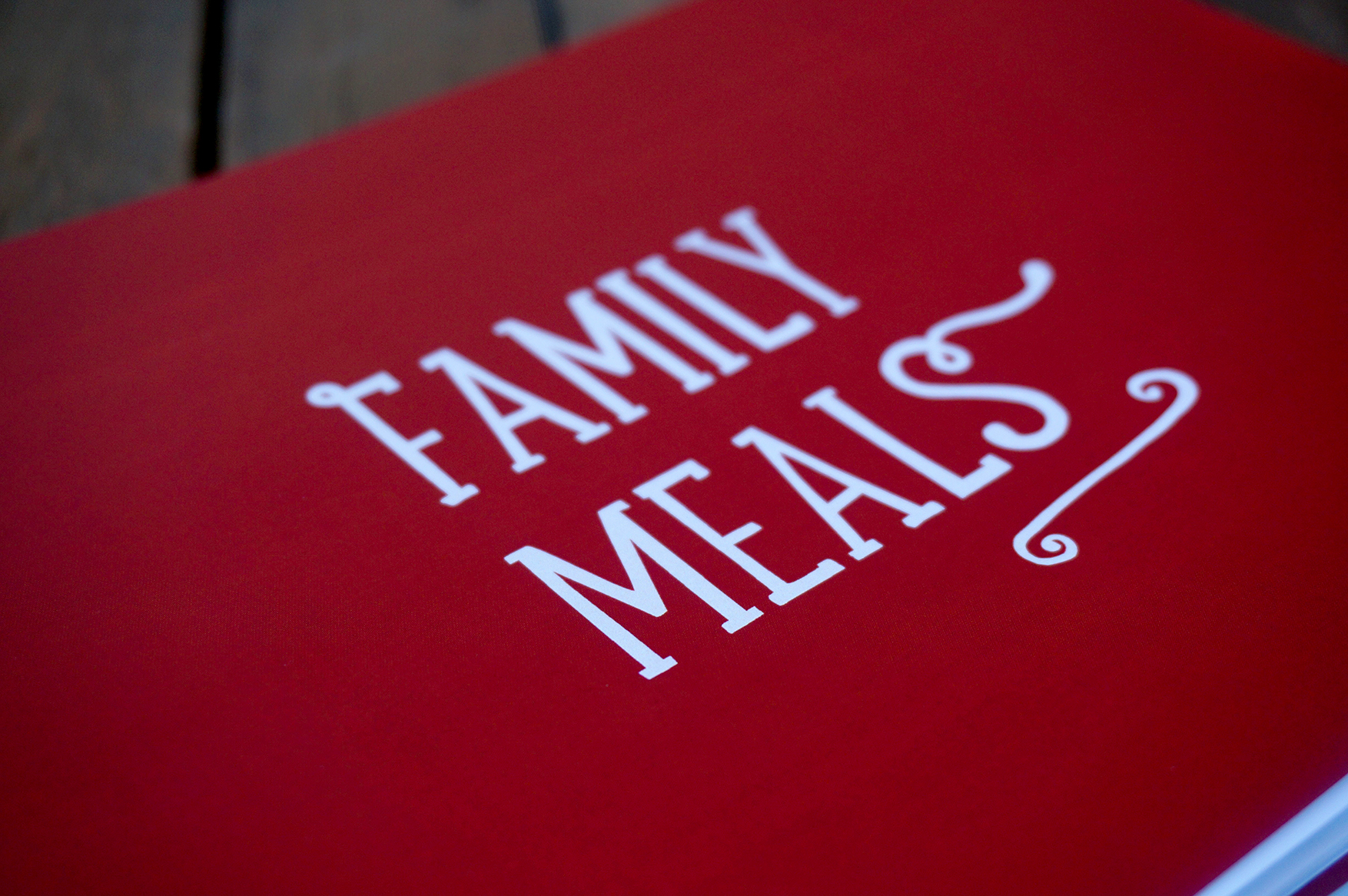 Family Meals cover page