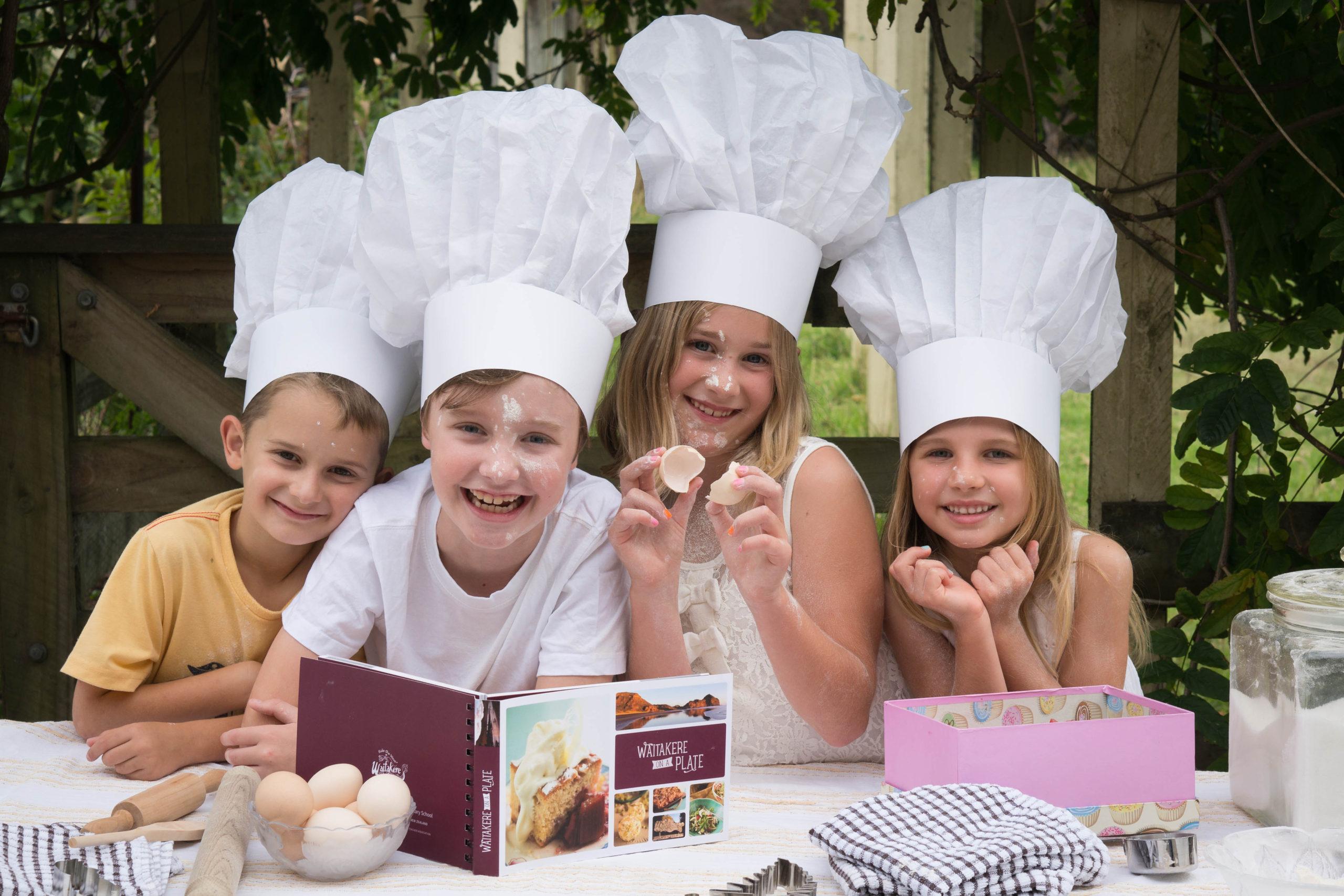 Waitakere Primary Cook Book Kids