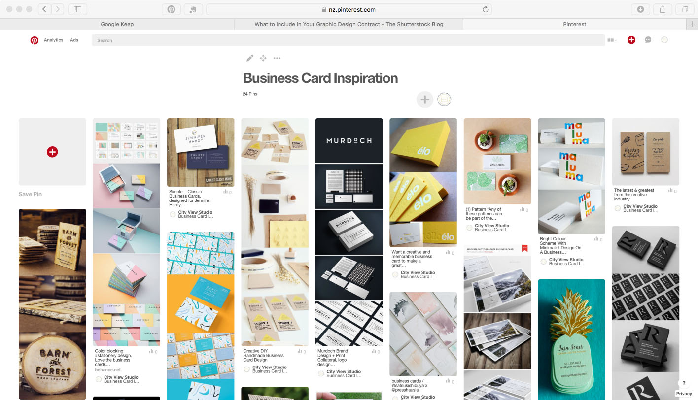 Creative Business Cards on Pinterest
