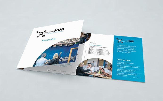 Pro Clima Hub profile brochure cover