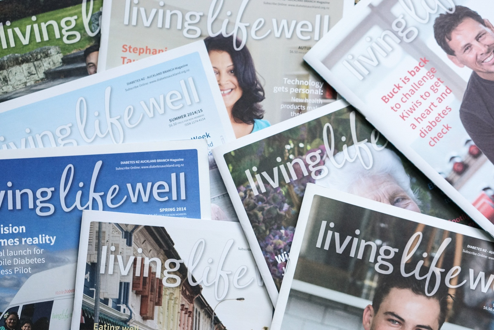 living life well magazines