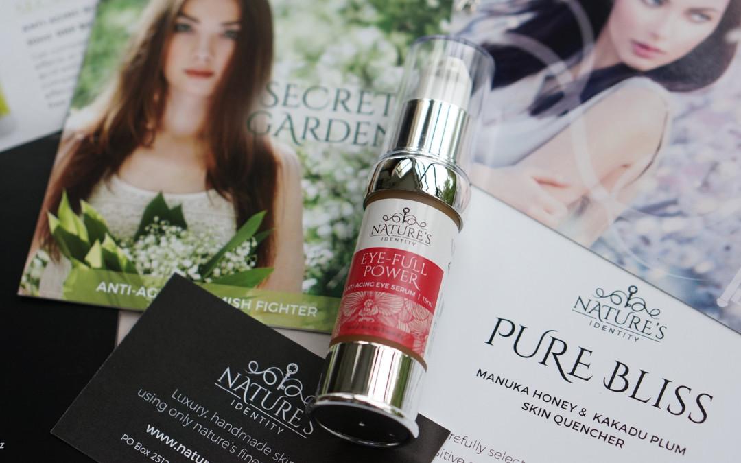 Nature's Identity Skincare branding project