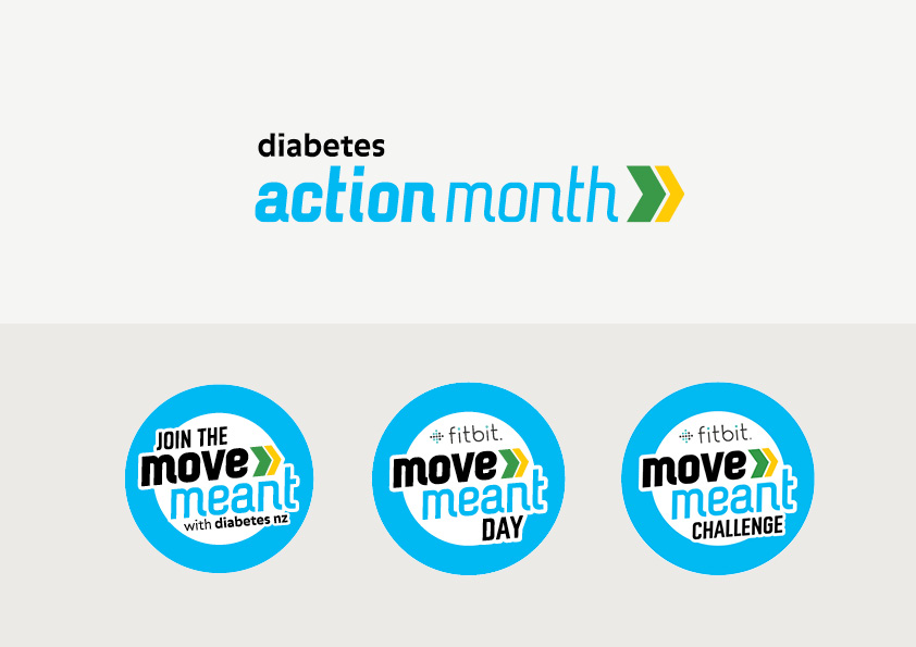 Diabetes Action Month Logos