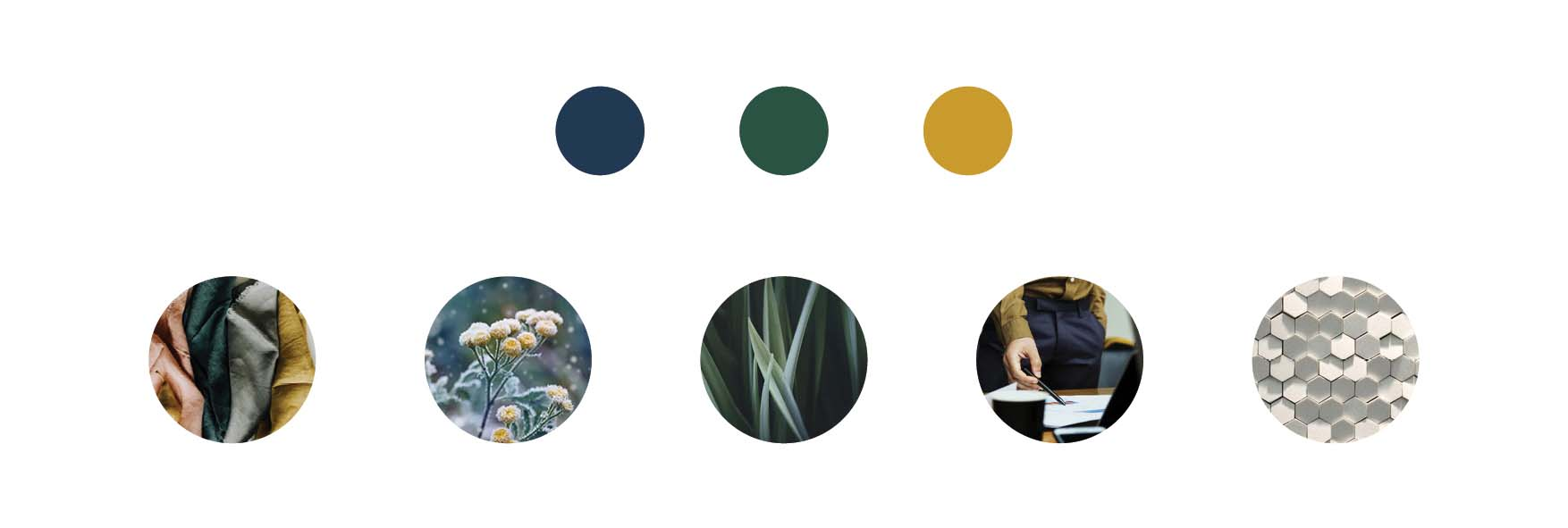 navy emerald gold colour palette and mood board