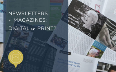 Newsletters and magazines – digital or print?