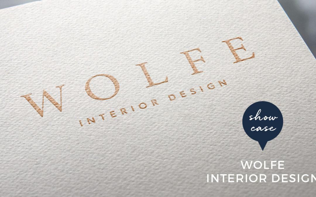 Wolfe Interior Design branding project